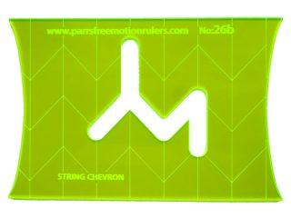 Ruler 26b - String Chevron